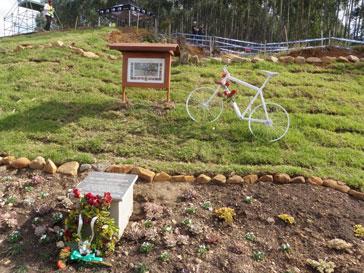 Organizers commemorated the Bury Strander Memorial Garden