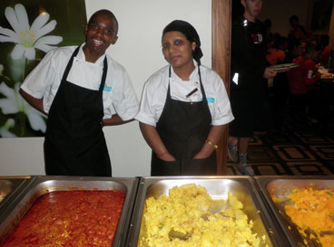 Chef's of the StayEasy Hotel.