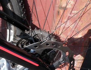 Tied and soldered spokes
