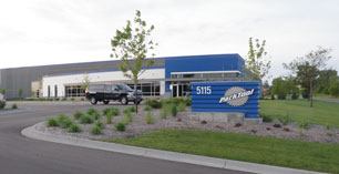 Front of the Park Tool Oakdale building