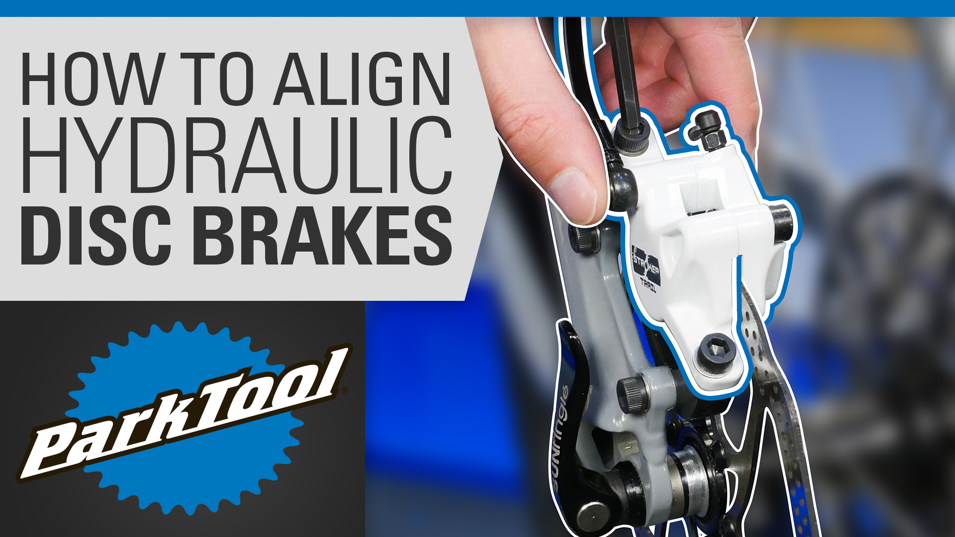 Video thumbnail for how to align hydraulic disc brakes