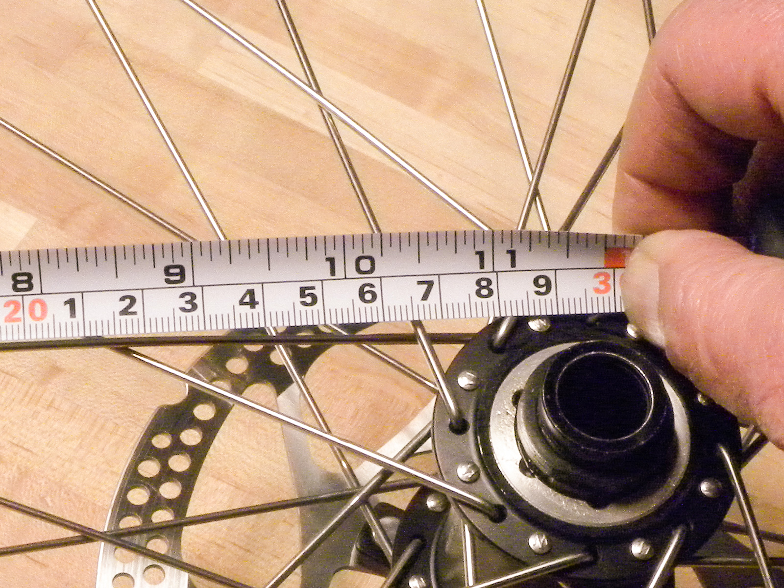 how to find rim size on bike
