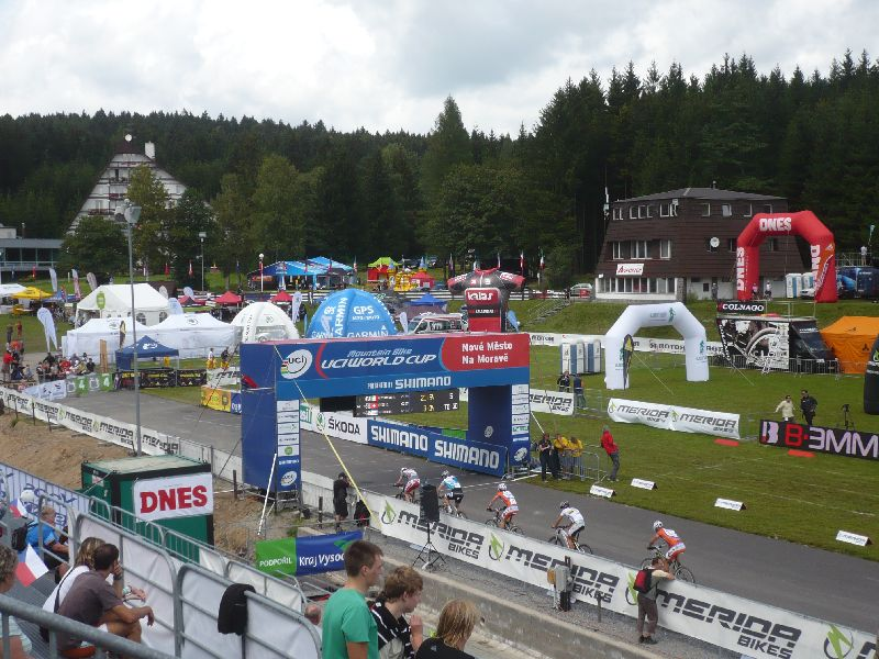 The Racing venue at Nove Mesto Na Morave