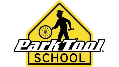 The Park Tool school yellow logo