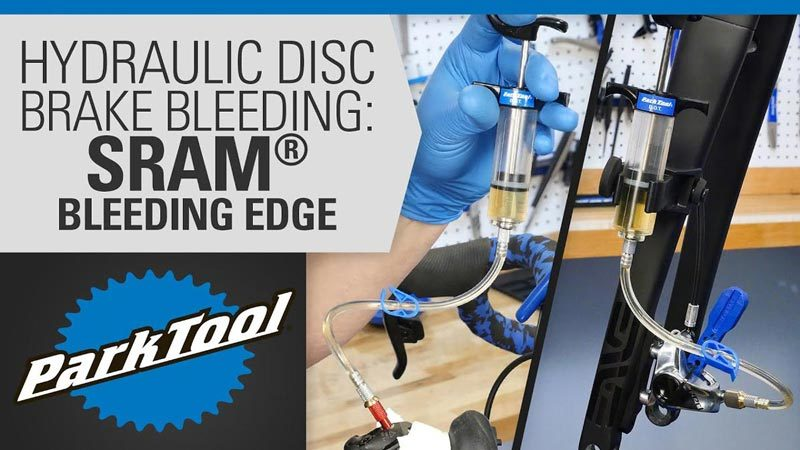 Thumbnail for YouTube Repair Help video on bleeding SRAM® Bleeding Edge™ brakes