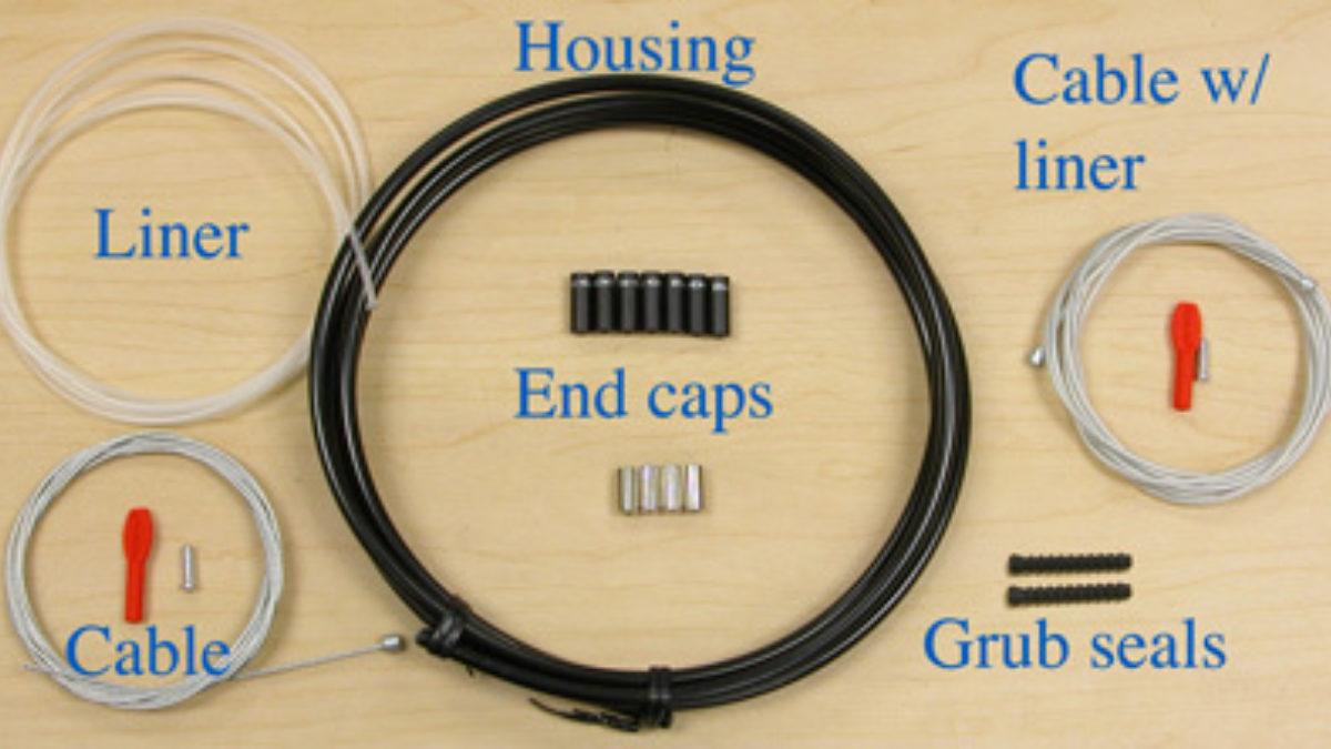 Linear Pull Brake Noodle Inner Brake Cable Rubber Boot Noodle V Brake Cable