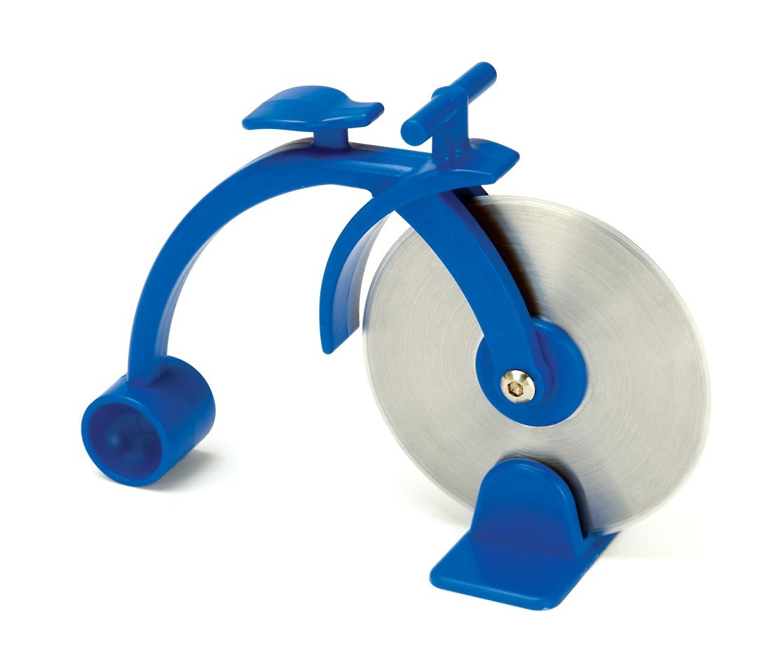 The Park Tool PZT-2 Pizza Tool with blue handle