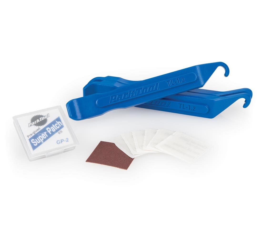 Contents of the Park Tool TR-1 Tire and Tube Repair Kit