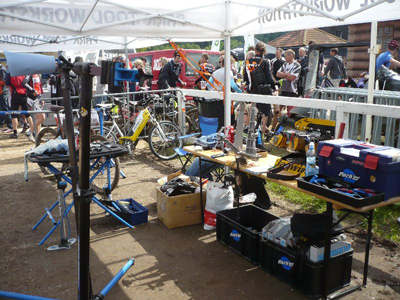 PedalSport comes prepared to serve and are well equipment for any problem...