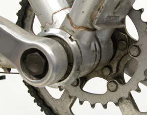 Adjustable bottom bracket and half-step gearing.