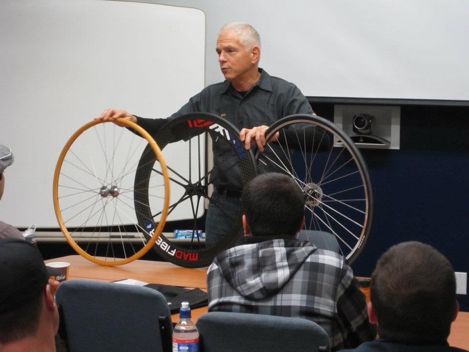 Wheel theory and design is covered by Ric Hjertberg