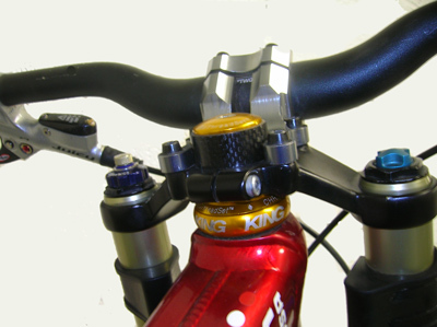 THIS STEM IS BOLTED DIRECTLY TO THE TOP CLAMP.