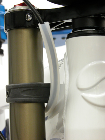 PROTECT HOUSING WITH A SHEATH OF TUBING.