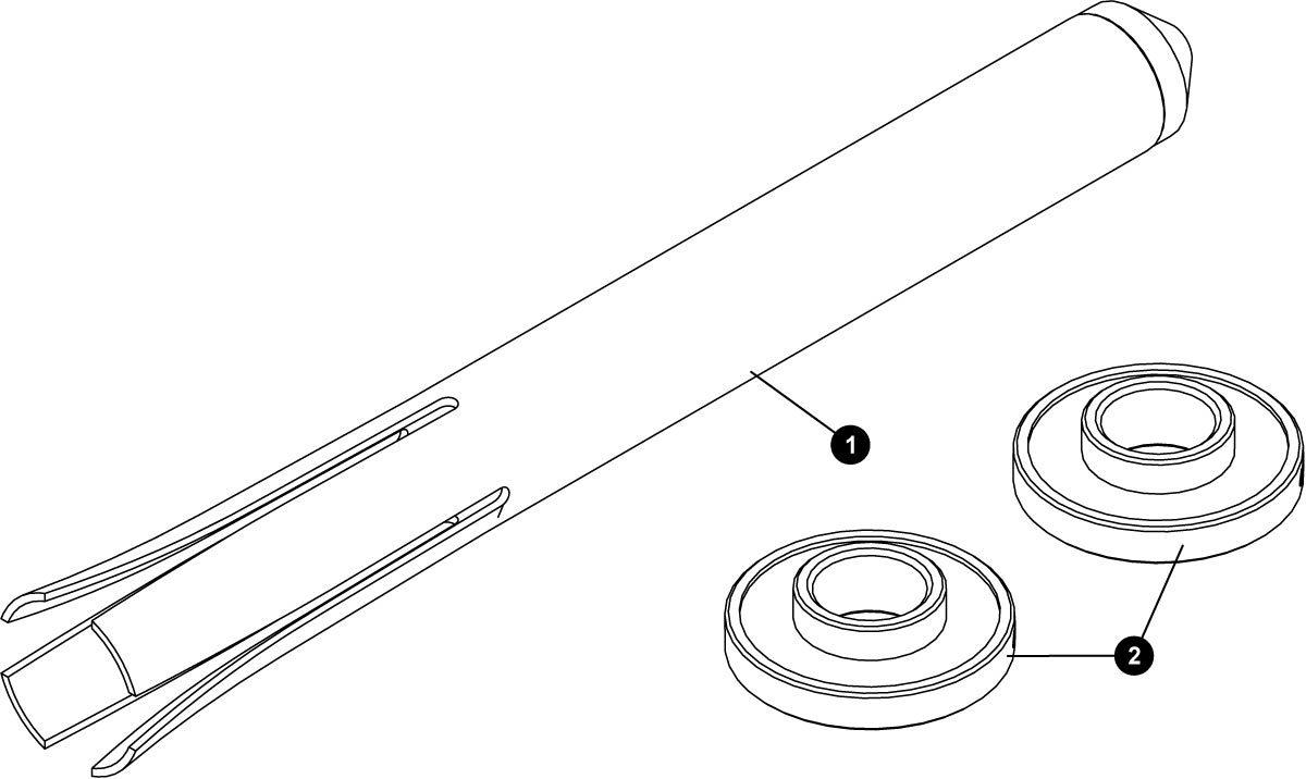 Parts diagram for BBT-90.3 Press Fit Bottom Bracket Bearing Tool Set, click to enlarge