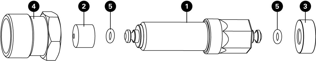 Parts diagram for CWP-7 Compact Universal Crank Puller, click to enlarge