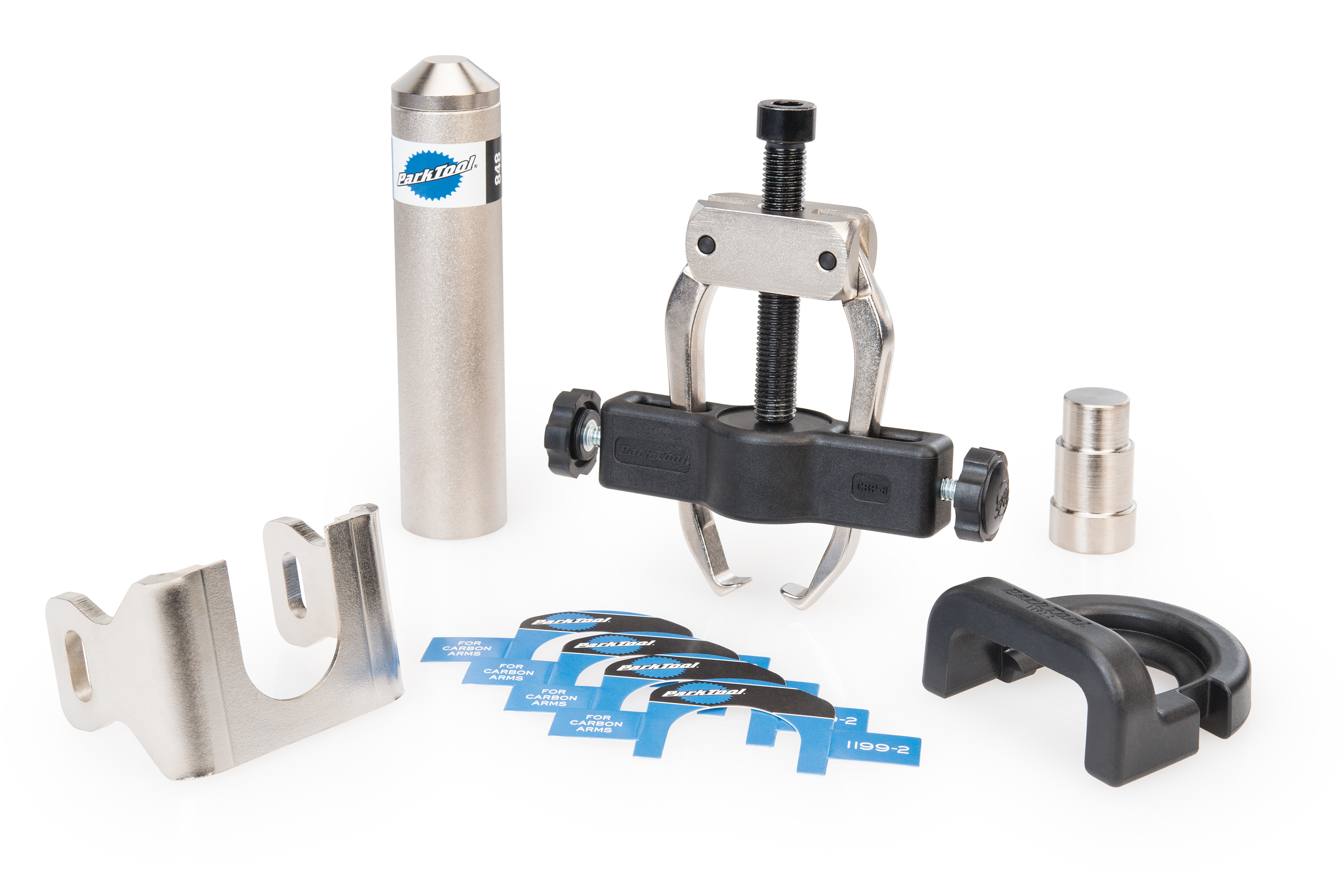 The Park Tool CBP-8 Campagnolo® Crank and Bearing Tool Set