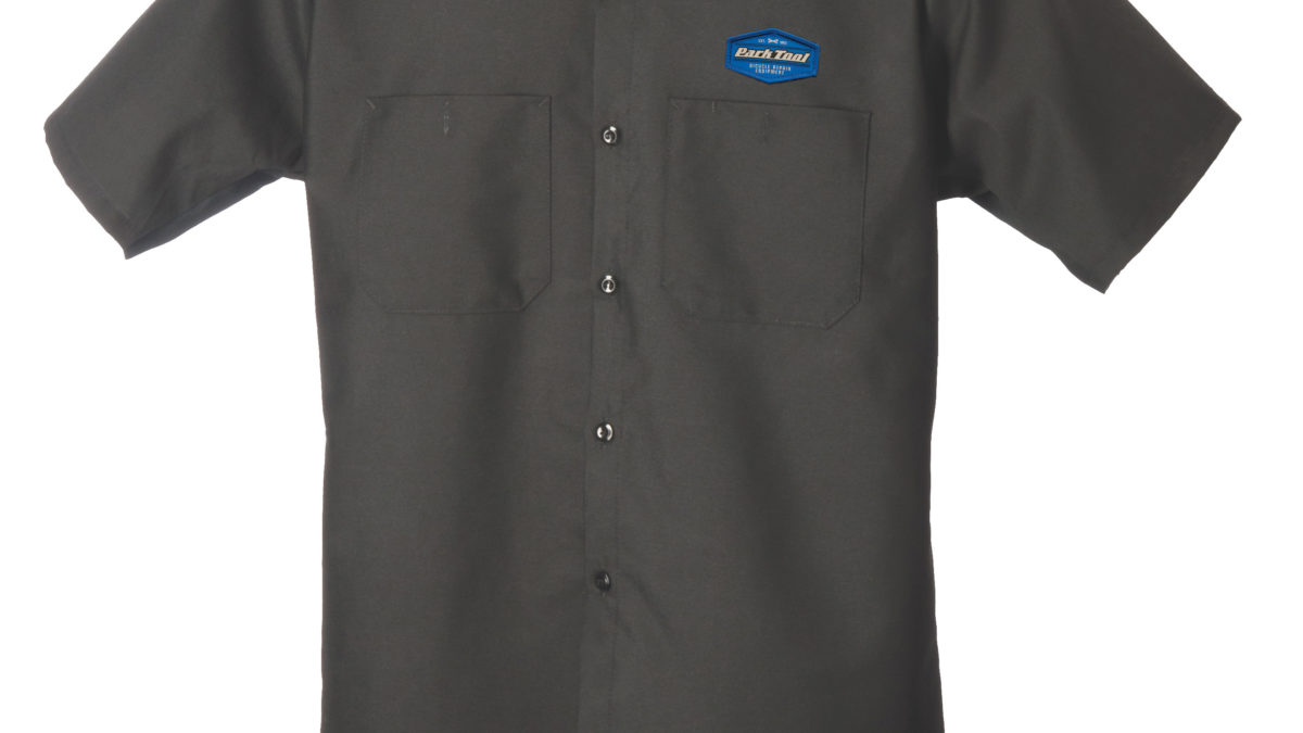 Park Tool MS-1.2 Mechanic Shirt XLG Charcoal