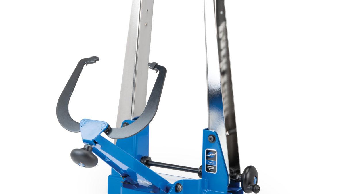 Park Tool TS-2.2 Chrome Pro Bike Wheel Truing Stand TSB-2 Tilting Base Set