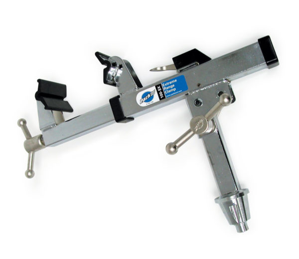 The Park Tool 100-5X Extreme Range Clamp, click to enlarge