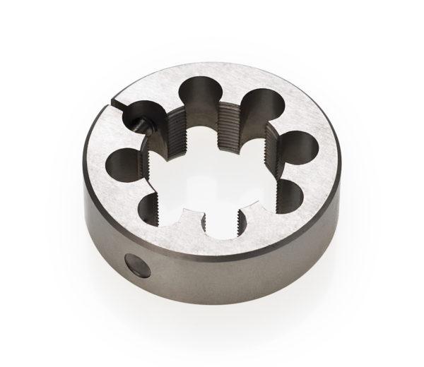 "Black round circle Park Tool 607 1-1/8"" cutting die tool, click to enlarge"