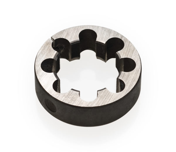 "Black round circle Park Tool 608 1-1/4"" cutting die tool, click to enlarge"