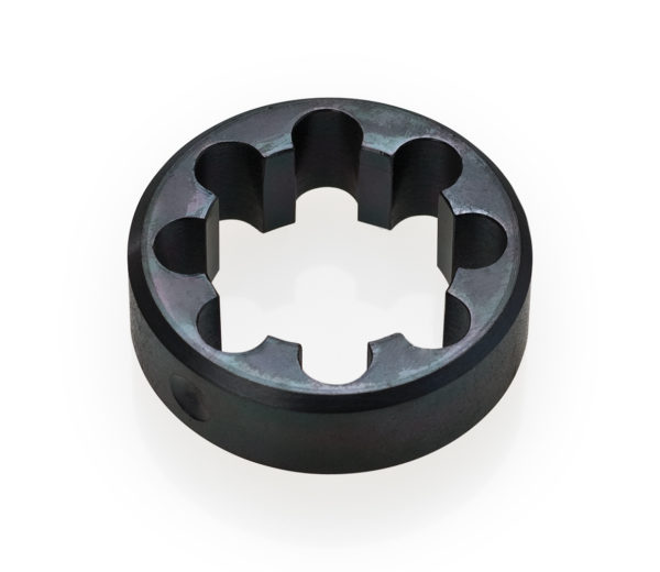 """Black round circle Park Tool 612 1-1/4"""" cutting guide tool, click to enlarge"""