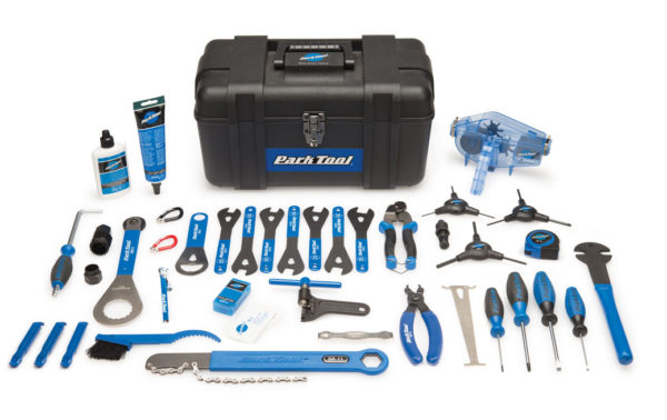 Contents in the Park Tool Ak-40 Advanced Mechanic Tool Kit, click to enlarge