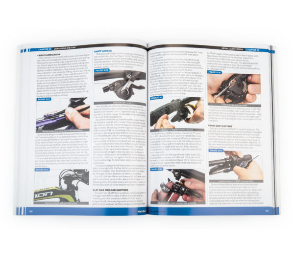 Inside page the Park Tool BBB-4 Big Blue Book of Bicycle Repair — 4th Edition, click to enlarge