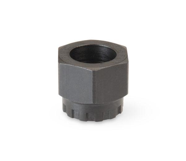 Socket side of Park Tool BBT-5/FR-11 Bottom Bracket / Cassette Lockring Tool, click to enlarge