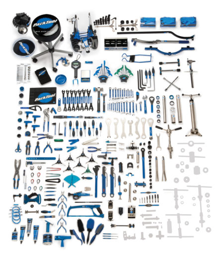 Contents for the Park Tool BMK-264,  Base Master Tool Kit, click to enlarge