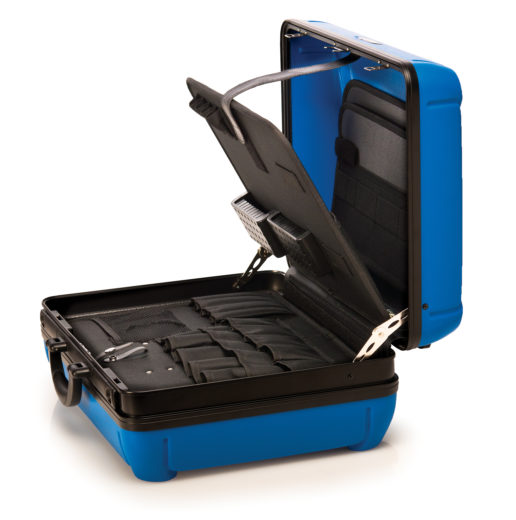 The Park Tool BX-2 Blue Box Tool Case opened up, click to enlarge