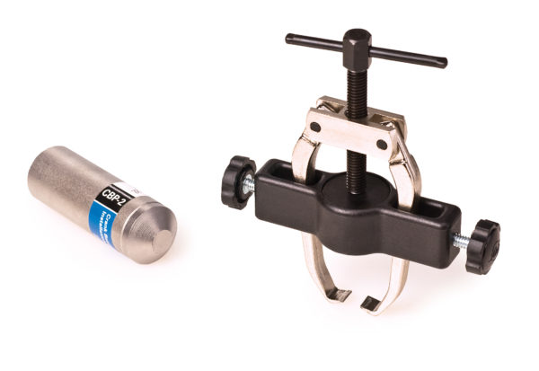The Park Tool CBP-3 Campagnolo® Bearing Puller and Installer Set, click to enlarge