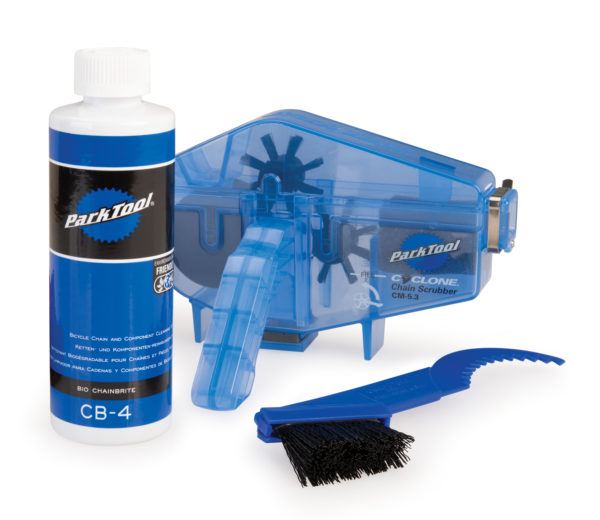 Contents of the Park Tool CG-2.4 Chain Gang Chain Cleaning System, click to enlarge