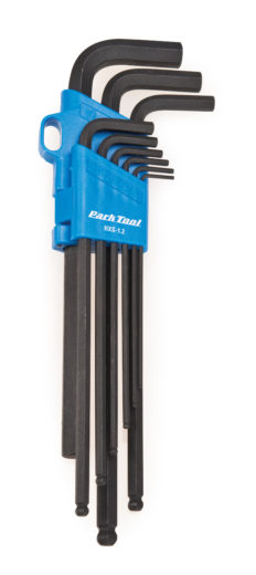 Park Tool HXS-1.2 Professional L-Shaped Hex Wrench Set, click to enlarge