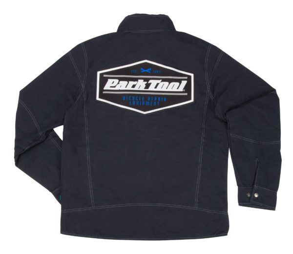 Back of the JKT-2 Limited Edition Mechanic's Jacket in black, click to enlarge
