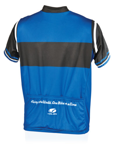 Back of the Park Tool JSY-1 Cycling Jersey, click to enlarge