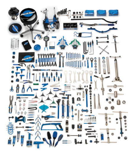 Contents for the Park Tool MK-278, Master Tool Kit, click to enlarge