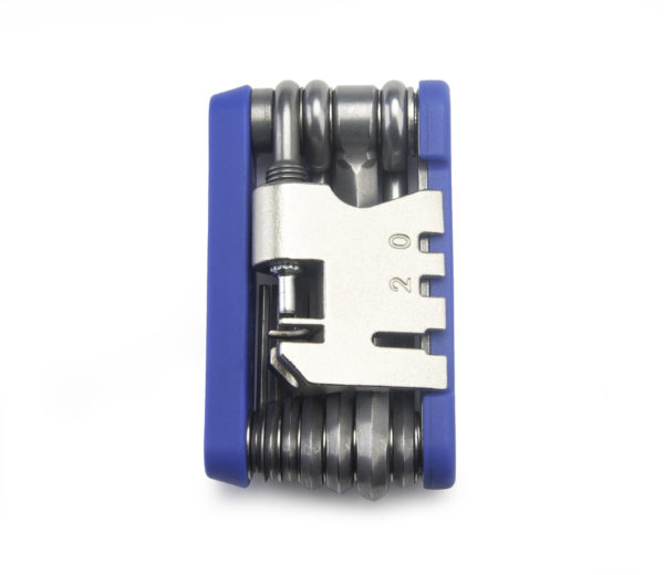 The Park Tool MTB-5 Rescue Tool, folded up, click to enlarge
