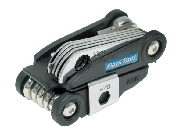 Top of Park Tool MTB-7, Rescue Tool folded, click to enlarge