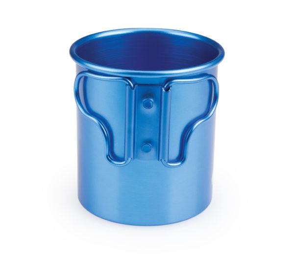The Park Tool Mug-5 Camp Mug handle side, click to enlarge