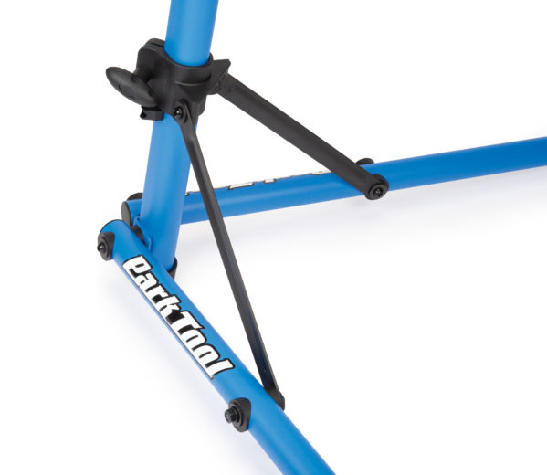 Close-up of legs on the Park Tool PCS-9.2 Home Mechanic Repair Stand, click to enlarge