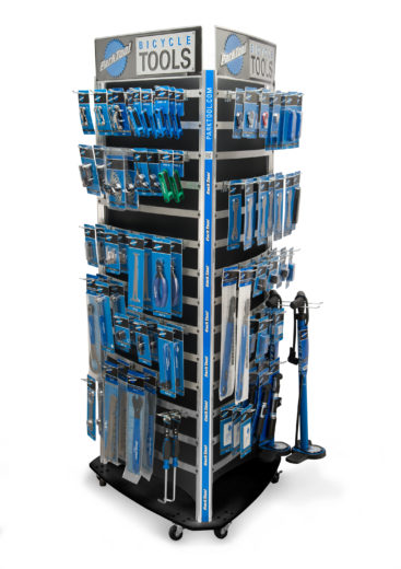 The Park Tool PDR-4.2 Park Tool Display System, click to enlarge