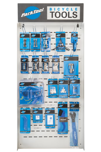 The Park Tool PDR-5.2 Mini Wall Display, click to enlarge