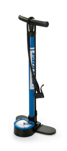 The Park Tool PFP-5, Home Mechanic Floor Pump, click to enlarge