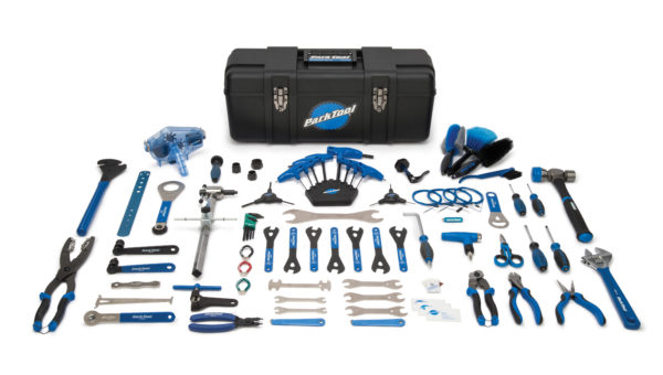 Contents in the Park Tool PK-2 Professional Tool Kit, click to enlarge