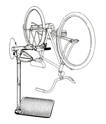 Line drawing of PRS-1 Repair Stand, click to enlarge