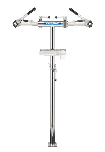 The Park Tool PRS-2.2-1 Deluxe Double Arm Repair Stand, click to enlarge