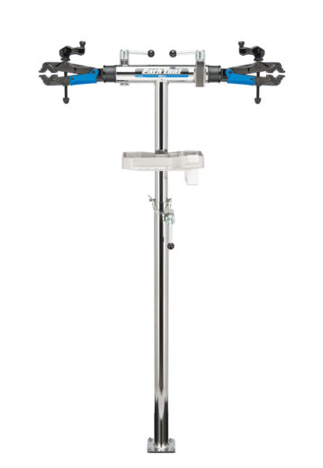 The Park Tool PRS-2.2-2 Deluxe Double Arm Repair Stand, click to enlarge