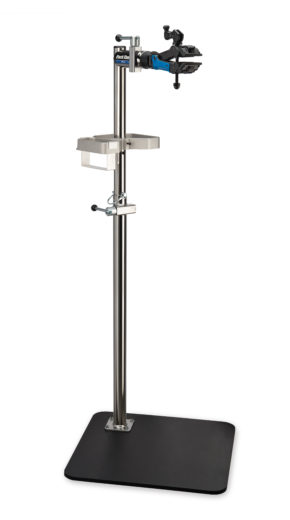 The Park Tool PRS-3.2-2, Deluxe Single Arm Repair Stand with stand base, click to enlarge