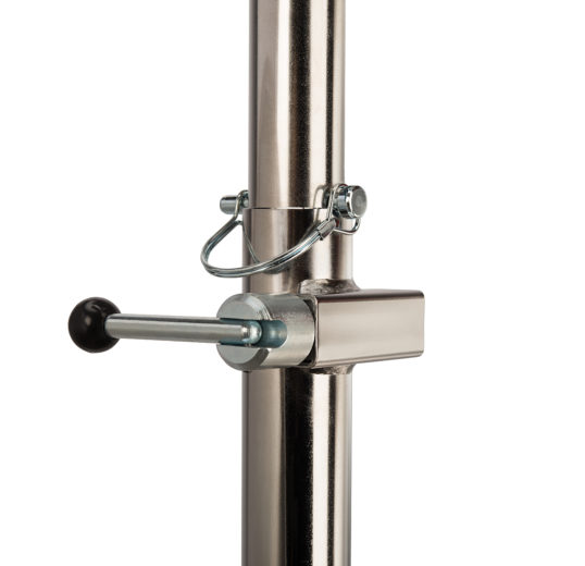 Close up of The Park Tool PRS-3.2-2, Deluxe Single Arm Repair Stand  Lock Block System, click to enlarge